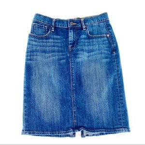 OLD NAVY Denim Pencil Mini Skirt C01